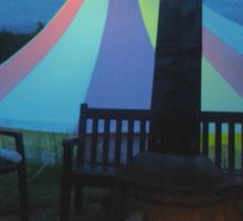 rainbow_tent_at_night
